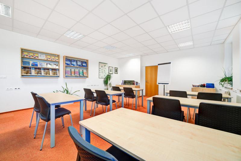 Focení školící místnosti v Brně