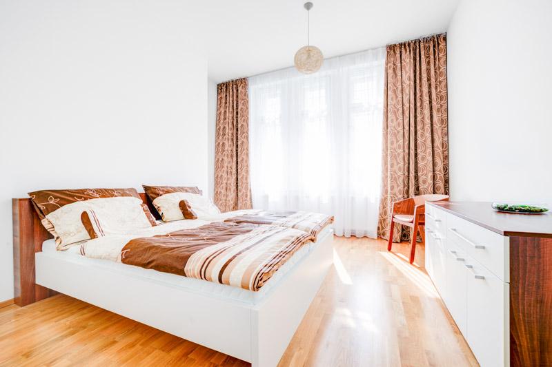 Focení apartmánu v Brně